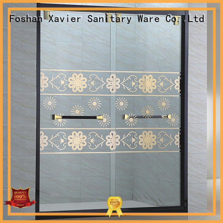 Xavier good quality glass shower screen promotion for household