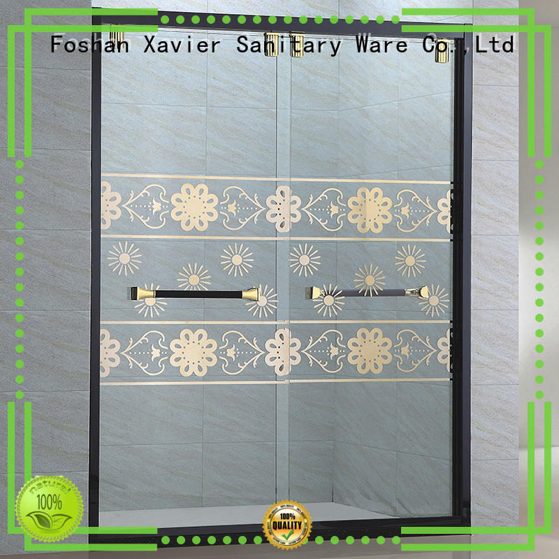 Quality Xavier Brand corner shower doors price
