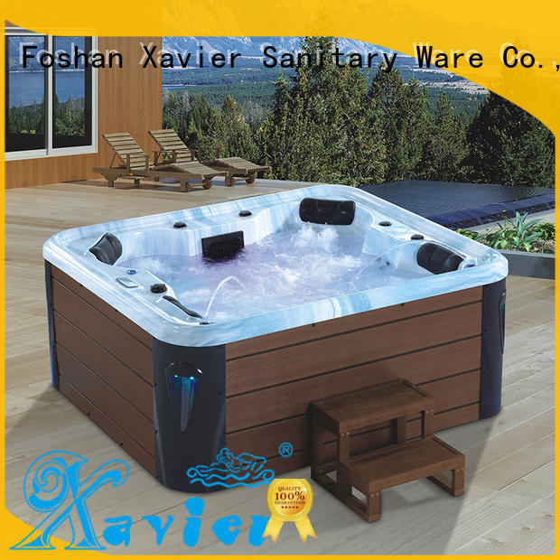 Xavier hydromassage air jet tubs with jacuzzi for outdoor