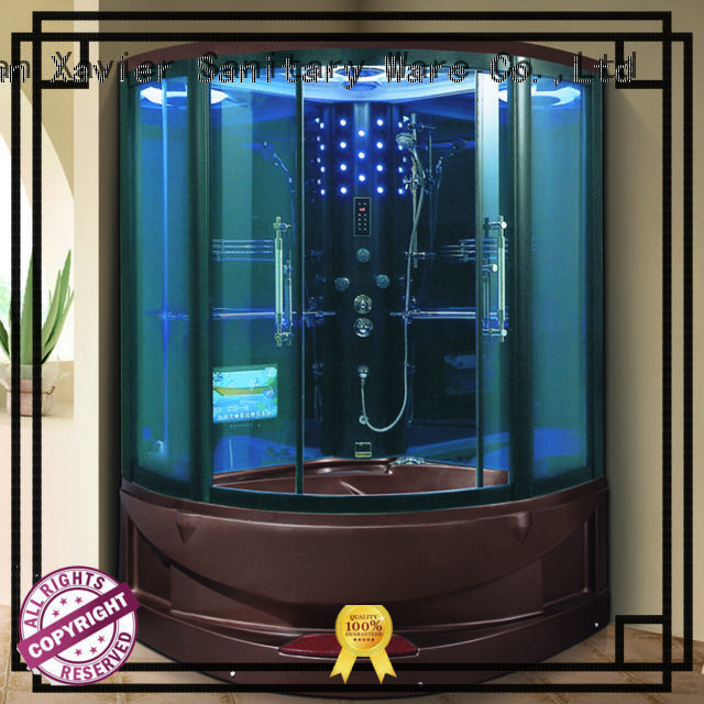 Xavier customized steam shower enclosure factory price for hotel