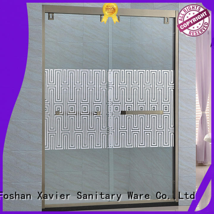 Xavier panel shower stall doors design for hotel