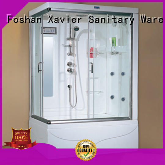 Xavier safe steam shower bath factory price for hotel