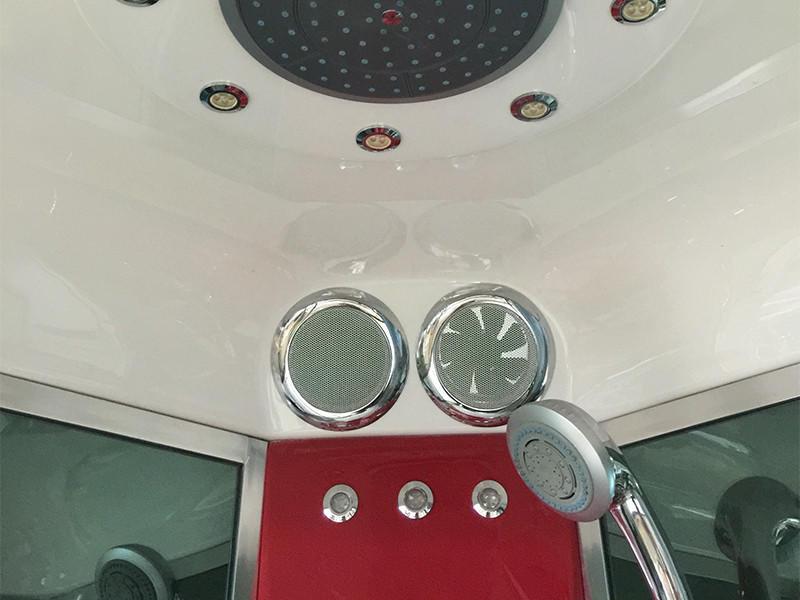 Xavier -Steam Shower Cubicle | Glass Steam Room With Feet Massage-2