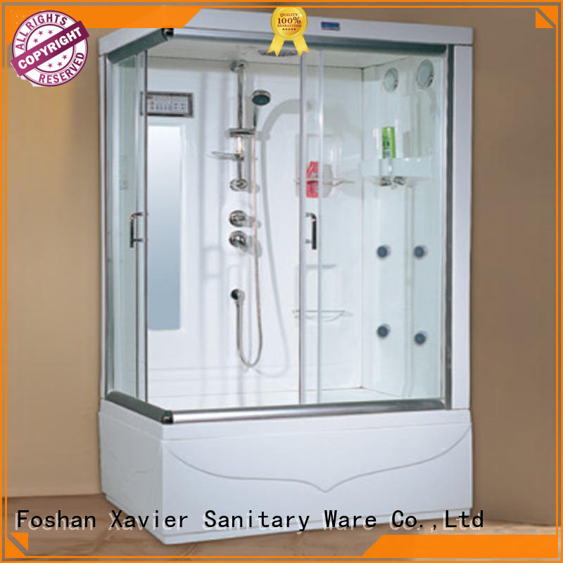 hot selling glass Xavier Brand steam room shower factory