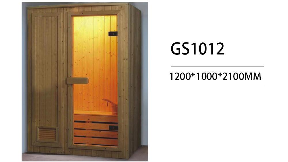 Xavier -Best Home Infrared Sauna Indoor Steam Sauna Room For Different Size Gs1012
