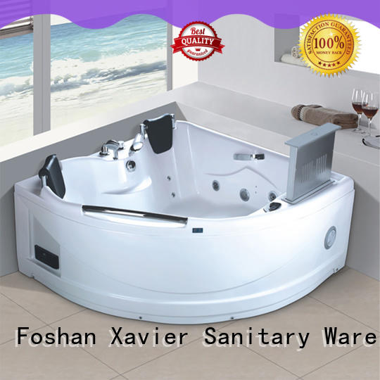 Xavier waterfall whirlpool jet tub with jacuzzi for villa