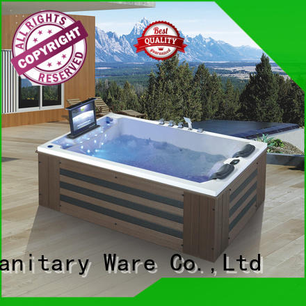 custom massage bathtub multifunction with jacuzzi for outdoor