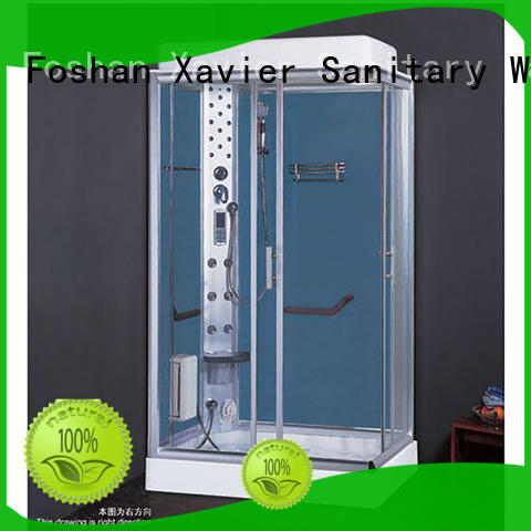 Xavier customized steam room shower combo online for hotel