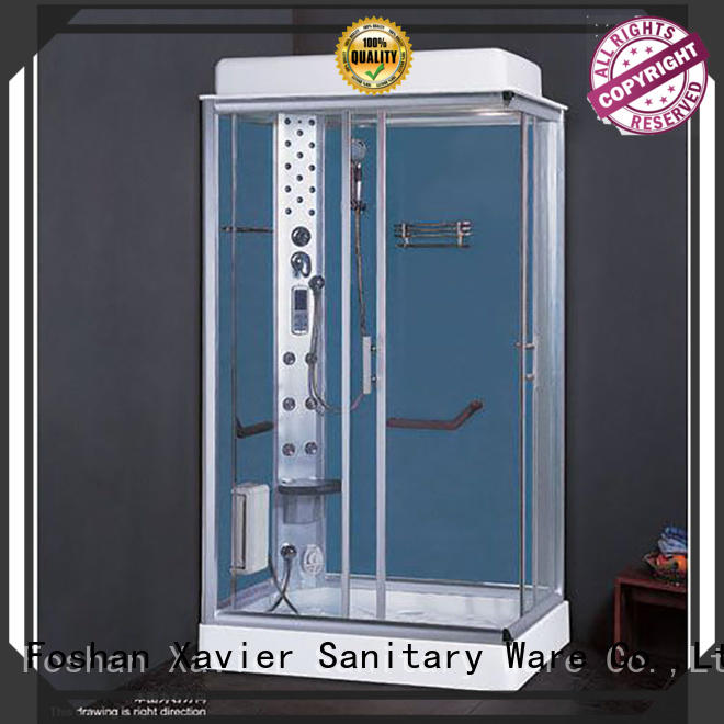Xavier customized steam shower cabin on sale for apartment