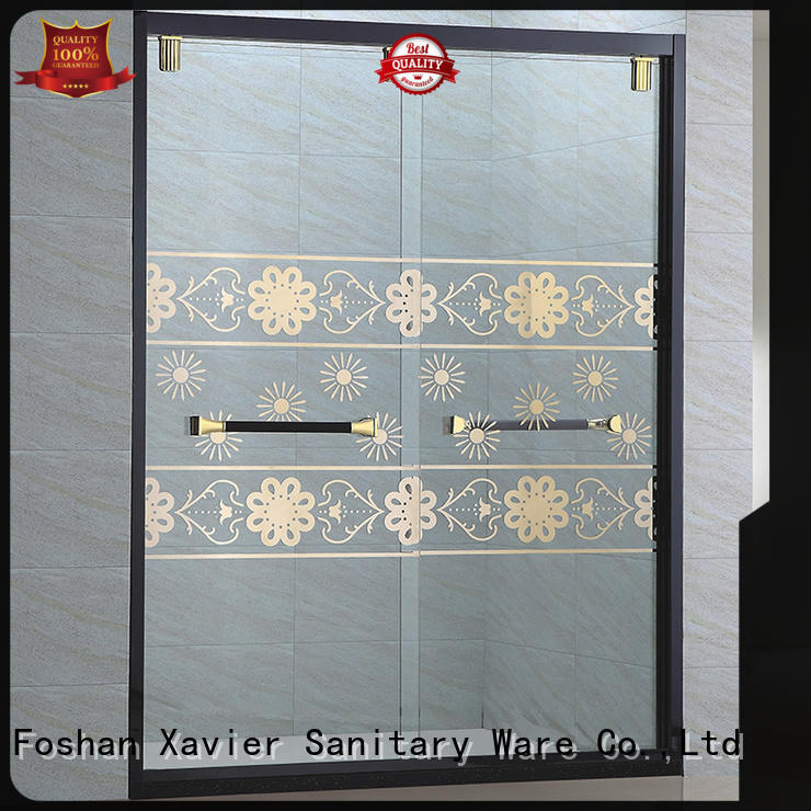 Xavier bypass bath glass screen directly price for home