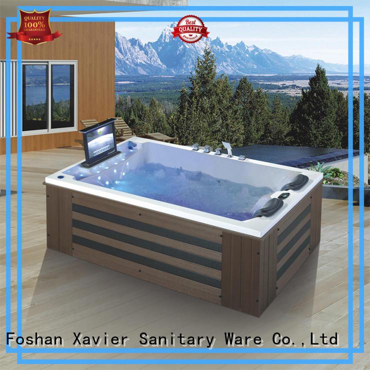 Xavier multi function massage bathtub supplier for villa