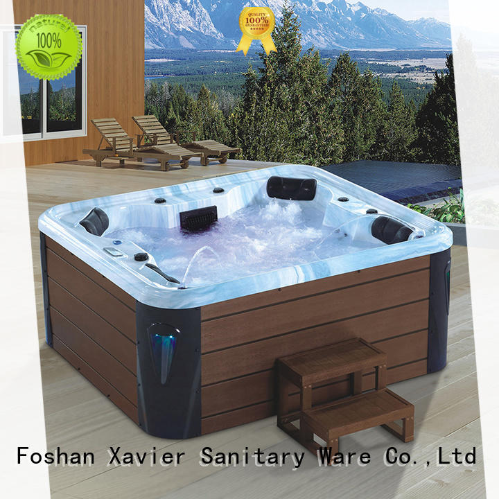 Xavier technical air jet tubs with jacuzzi for villa