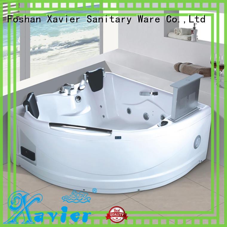 bathtub hydromassage jetted bathtub indoor new style Xavier Brand