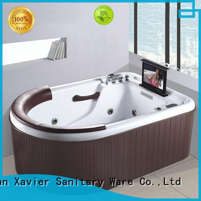 whirlpool hydromassage jetted bathtub bathtub acrylic Xavier Brand