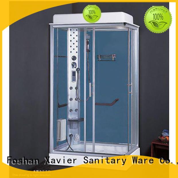 Xavier Brand glass steam steam room shower hot selling supplier