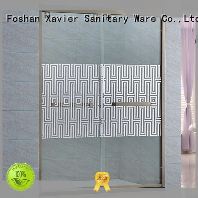Xavier durable shower stall doors design for hotel
