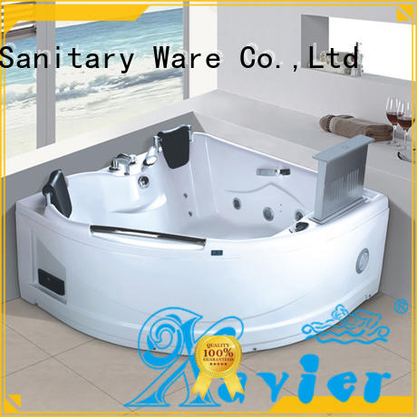 Xavier good quality air jet tubs supplier for family