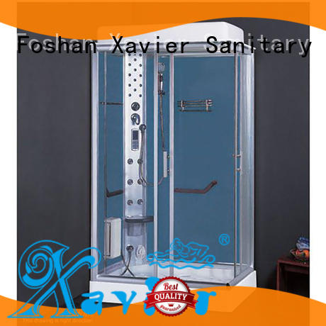 Xavier beautiful steam shower cubicle supplier for homestay