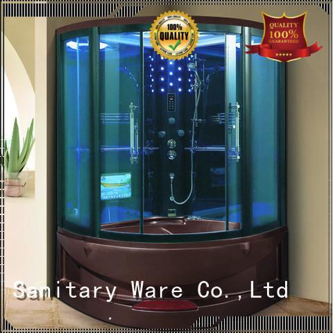 Xavier Brand shower glass hot selling steam room shower