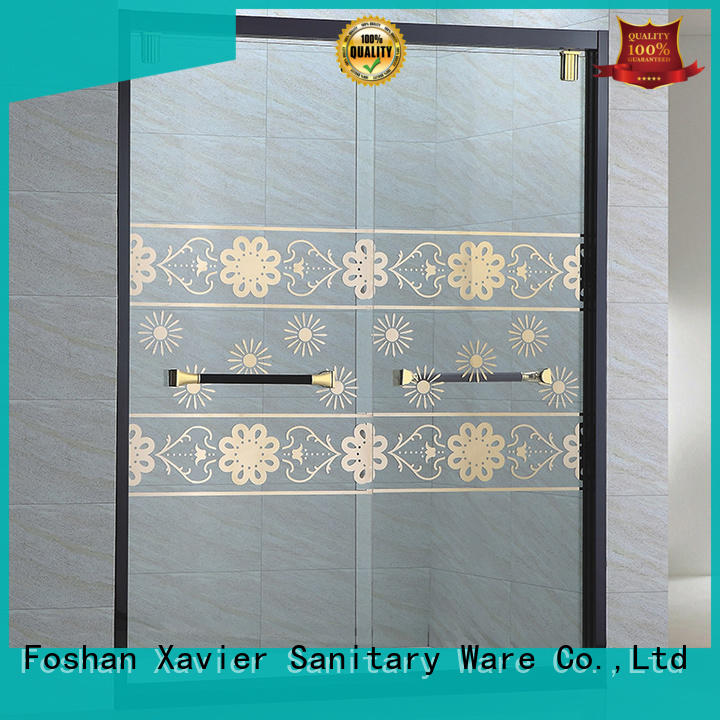 durable bathroom glass door price for sale for hotel