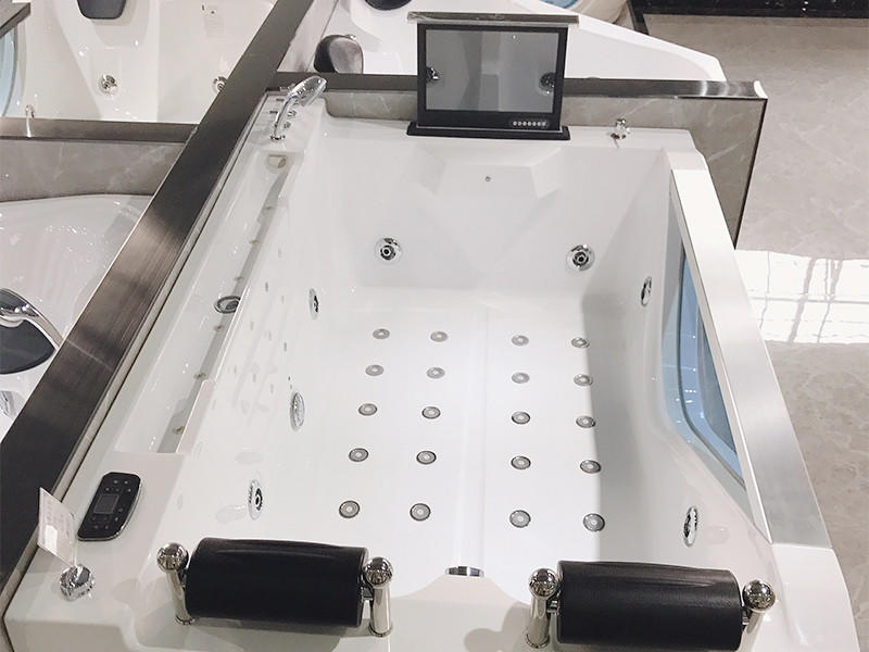 Xavier -American Standard Whirlpool Tub   Acrylic Hydromassage Bathtub-1