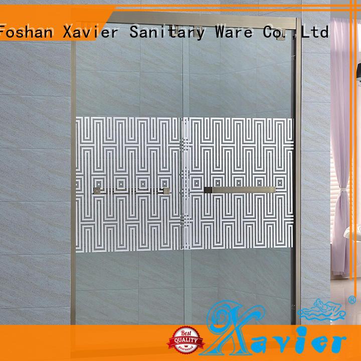 Xavier durable sliding shower screen bxg005 for household